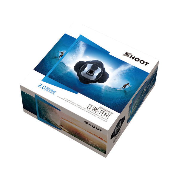 Dome Port for split-bilder | GoPro HERO 3+/4/4 Silver Edition, Black Edition (u/ LCD Screen)