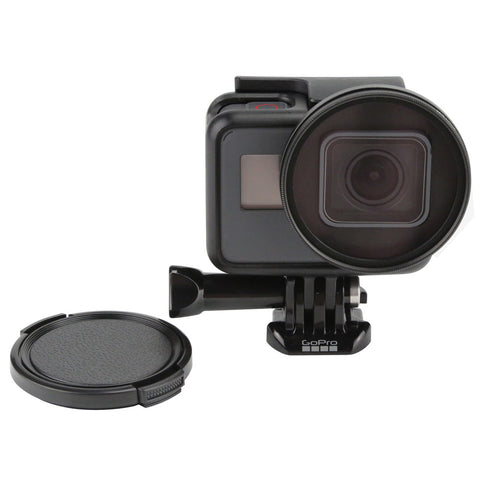52mm UV Filter - Gopro Hero 7, 6 og 5 Black - Lens Cover og Adapter