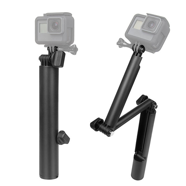 Floating 3 way monopod for GoPro Hero 8, 7, 6 5 4 3 2 1 og Session - Flytende (buoyant) selfiestick & extension arm ***NYHET!***