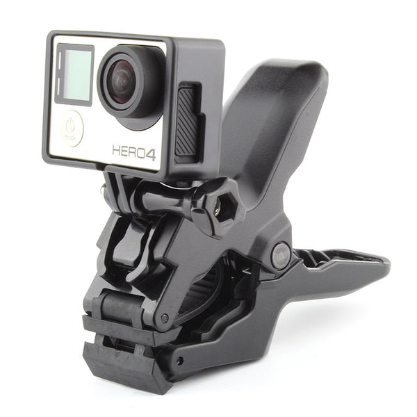 Kraftig klemme for gopro actionkamera