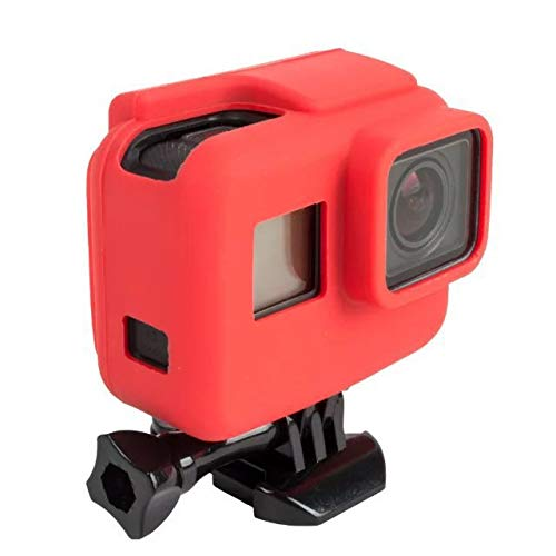 Silicone case  for GoPro Hero 7,  6 og 5 Black, med ramme