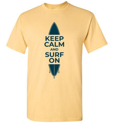 Keep calm and surf on