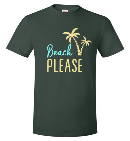 Beach PLEASE! Hanes Nano-T T-Shirt