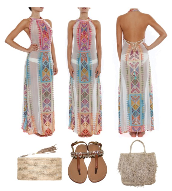 Luxe Bohemian Glamour: Long Summer Dresses