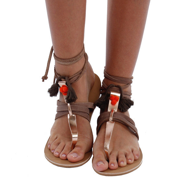 Picks for Summer: Chic Bohemian Leather Sandals