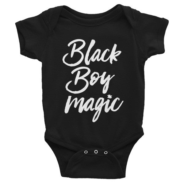 Black Boy Magic - Infant Onesie (Short Sleeve)