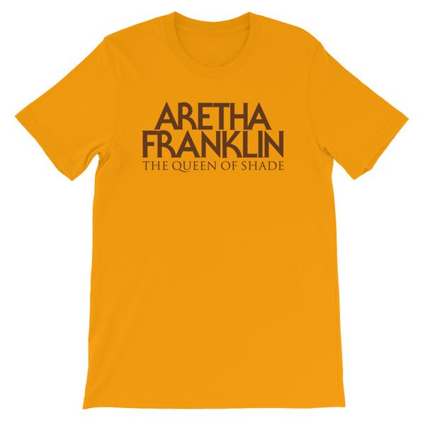 ARETHA FRANKLIN - The Queen of Shade (Short-Sleeve Unisex T-Shirt)