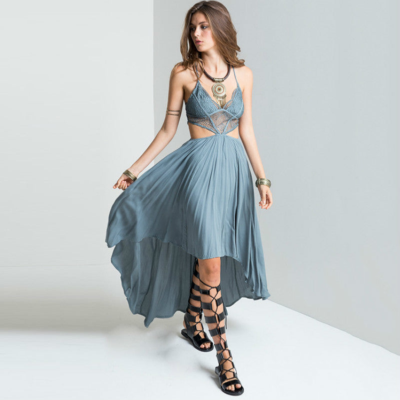 Kleider Boho Hi Low Dress