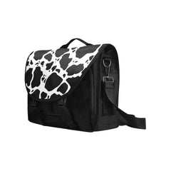 Cow Print Laptop Bag Side View