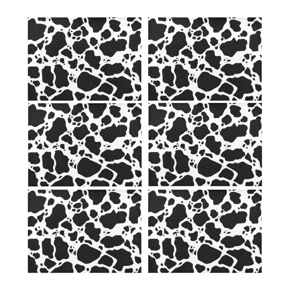 Cow Print Placemats product