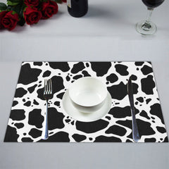 Cow Print Placemats Lifestyle