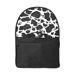 Cow Print Laptop Bag Open