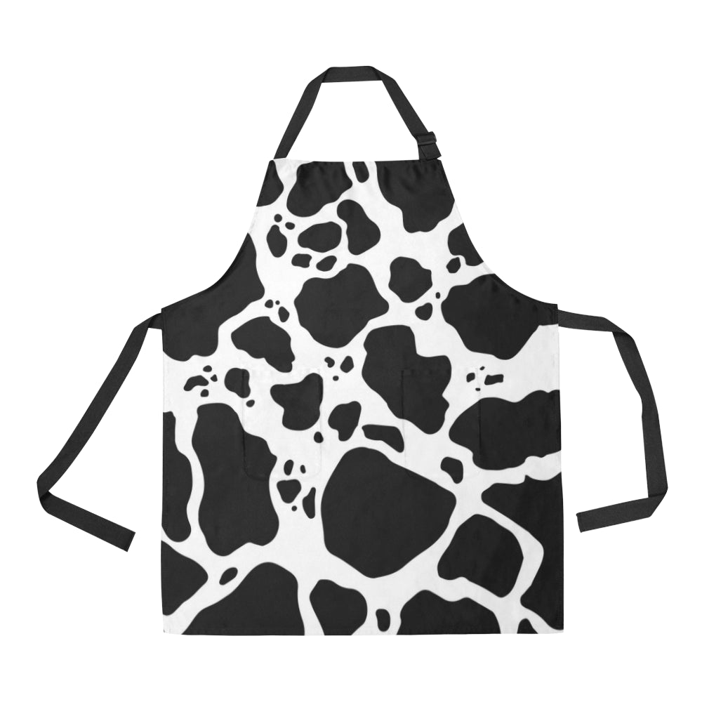 Cow Print Adjustable Apron Product