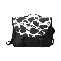Cow Print Laptop Bag Front