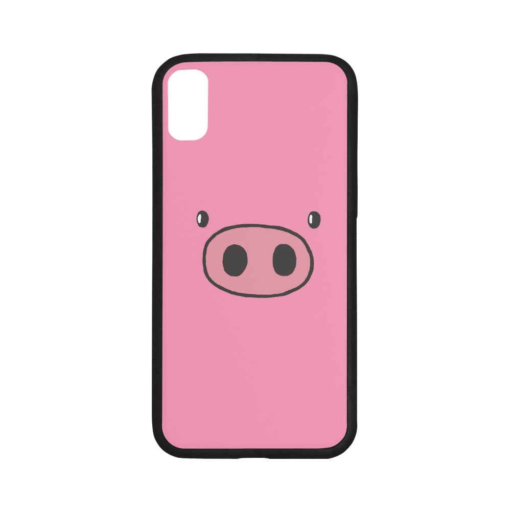 Pink Pig Face Cell Phone Case