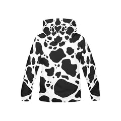 Cow Print Youth All Over Print Hoodie Back