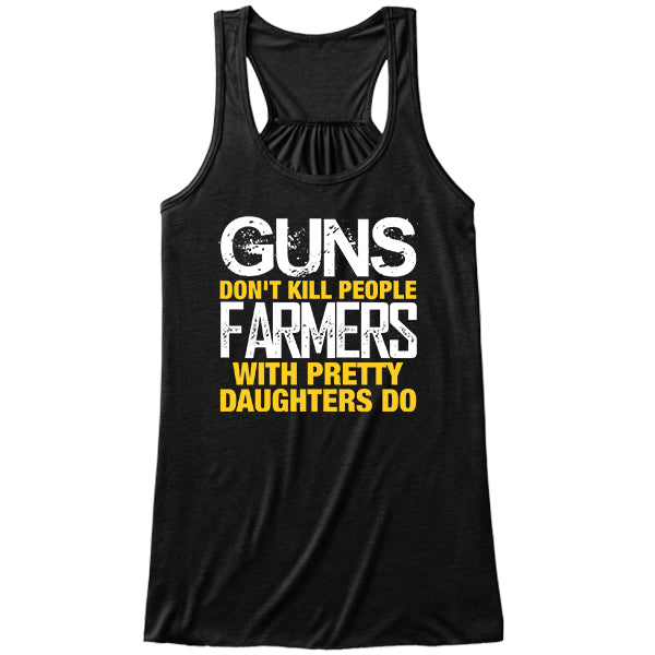 Farmers With Pretty Daughters black tank top