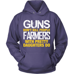 Farmers With Pretty Daughters purple hoodies