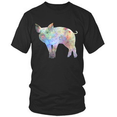 Colorful Pig T-Shirt
