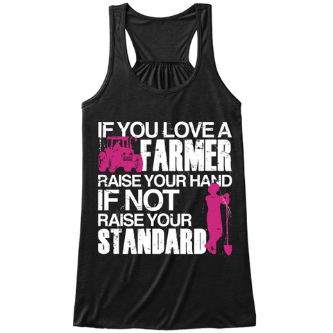 Farmer - Raise Your Standards black tank top
