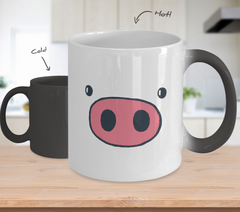 Pig Snout Color Changing Mug