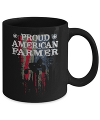 Proud American Farmer Coffee Mug