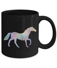 Colorful Horse Coffee Mug