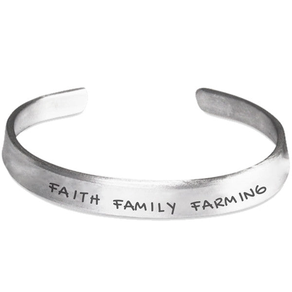 Faith Family Farming Bracelet
