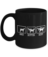 The More Goats The Better Coffee Mug