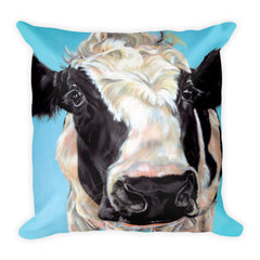Watercolor Holstein Pillow