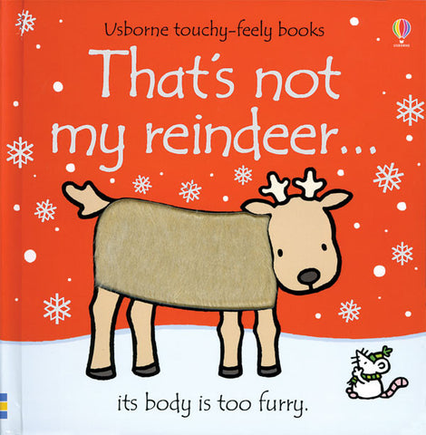 That's Not My Reindeer by Fionna Watt