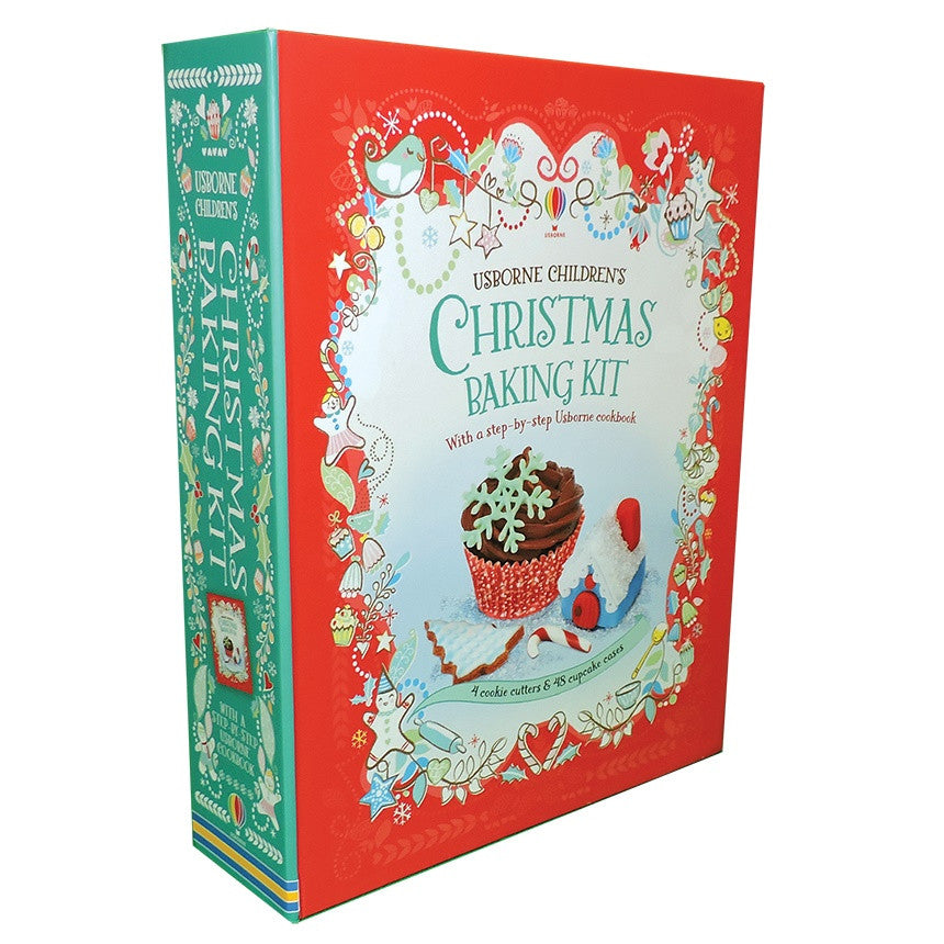 Children's Christmas Baking Kit by Fiona Patchett and Abigail Wheatley