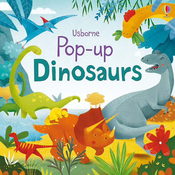 Pop-Up Dinosaurs by Fiona Watt, Illustrated by  Alessandra Psacharopulo