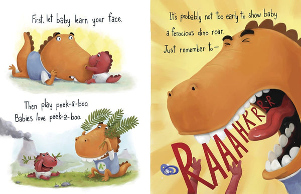 How to Grow a Dinosaur by Jill Esbaum, illustrated by Mike Boldt