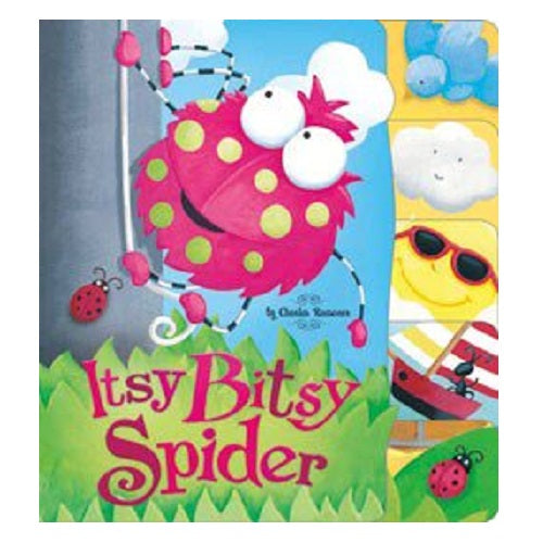 Itsy Bitsy Spider by Charles Reasoner Illustrated by Marina Le Ray