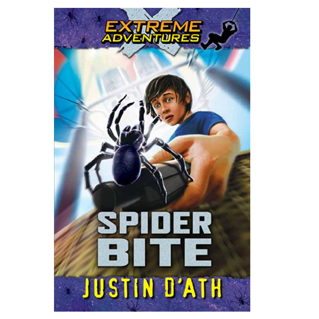 Extreme Adventures: Spider Bite by Justin D'Ath