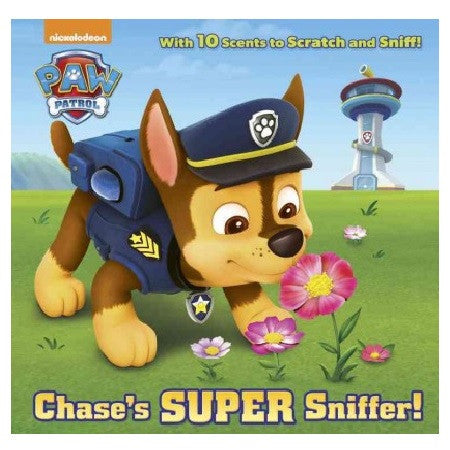 Chase's Super Sniffer! by Random House and MJ Illustrations