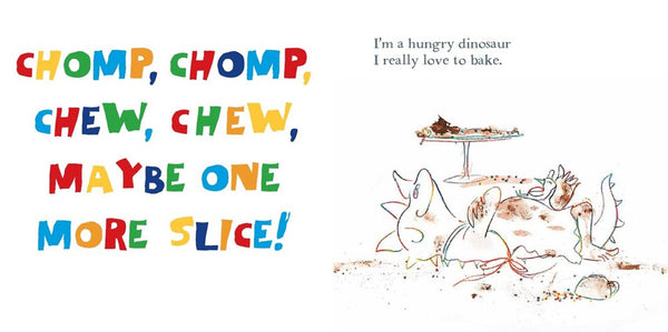 I'm a Hungry Dinosaur by Janeen Brian, Ann James