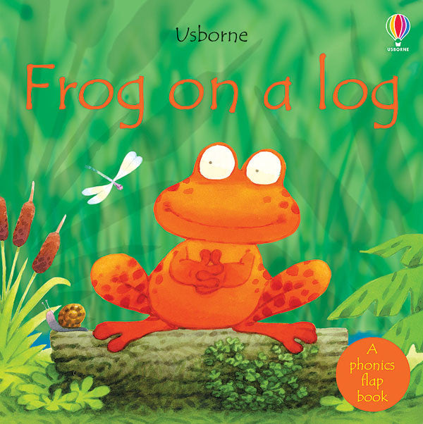 Frog on a Log Board Book by P.R. Cox and Stephen Cartwright