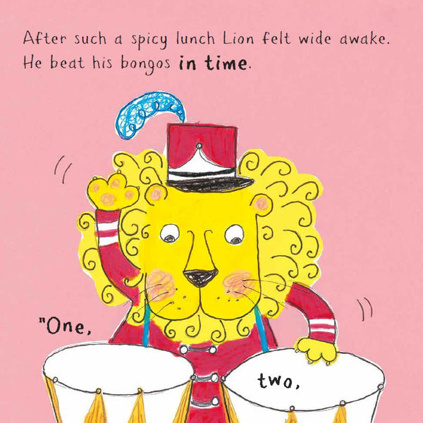 Lion's Speedy Sauce by Carrie and David Grant, Illustrated by Allie Busby
