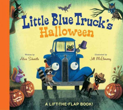 Little Blue Truck's Halloween by Alice Schertle and Illustrated by Jill McElmurry