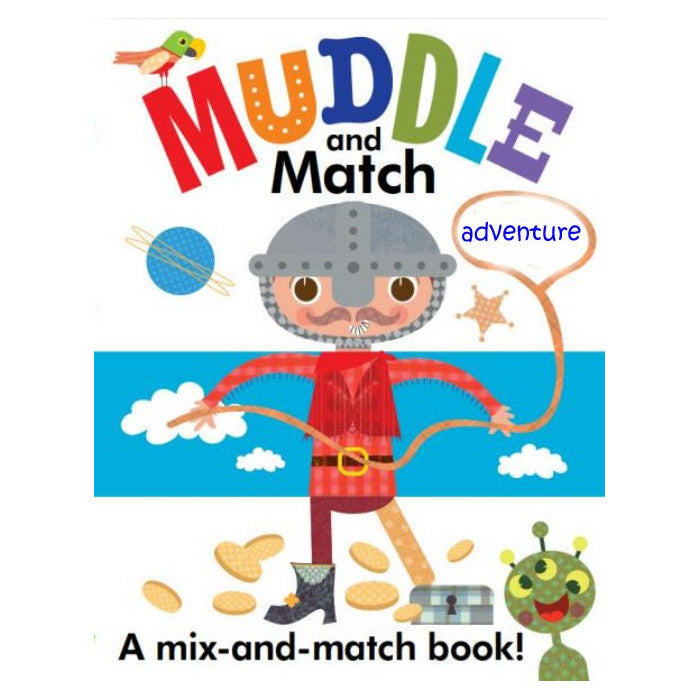 Muddle and Match: Adventure by Stephanie Hinton
