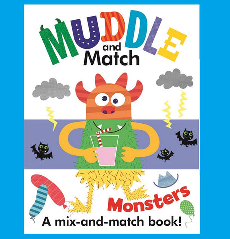 Muddle and Match: Monsters by Stephanie Hinton