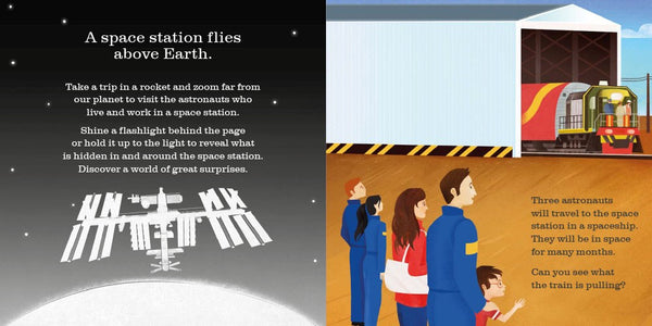 on-the-space-station-flashlight-book
