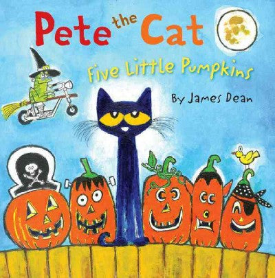 Five Little Pumpkins by James Dean