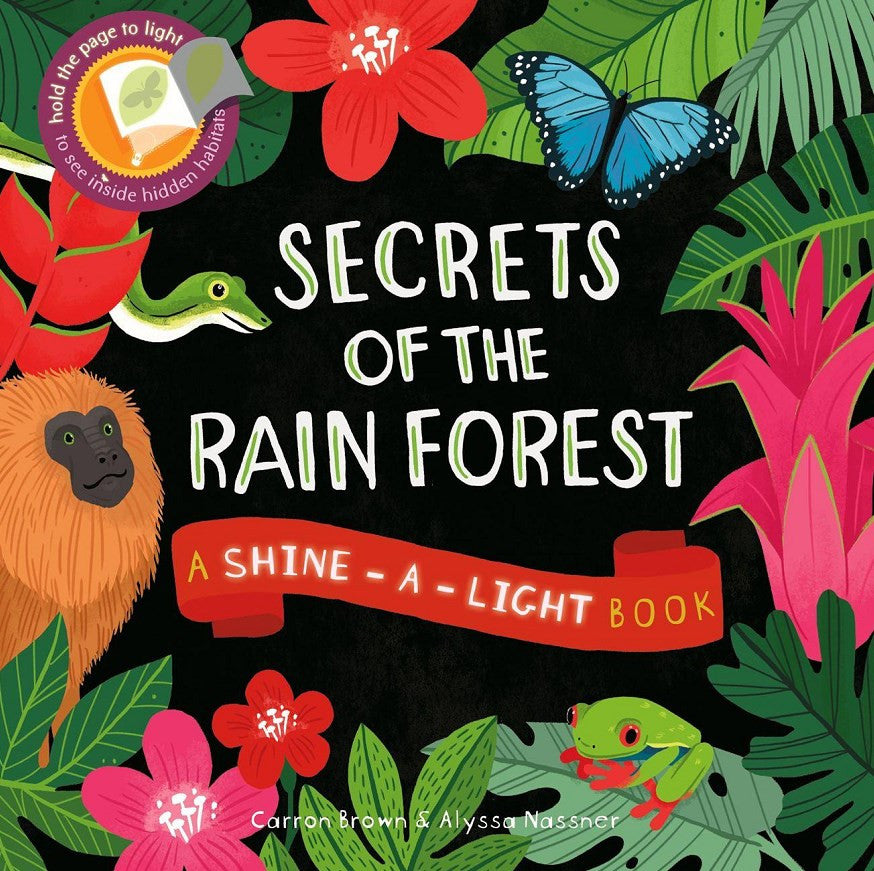 Secrets of the Rain Forest by Carron Brown and illustrated by Alyssa Nasser