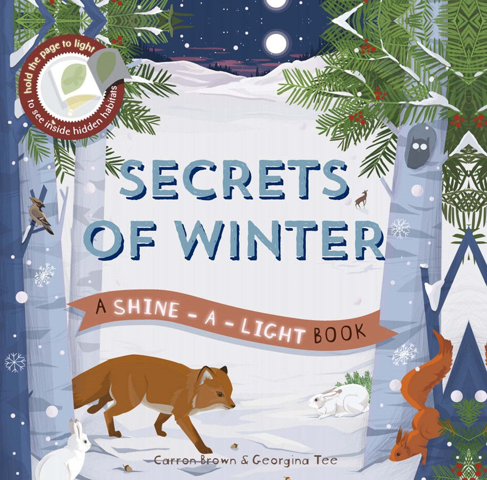 Secrets of Winter by Carron Brown, illustrated by Georgina Tee