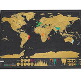 Gift - Scratch Off World Map