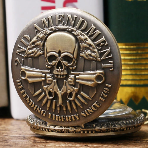 Defend the 2nd Amendment Pocket Watch