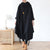 Drawstring Irregular Hem Casual Dress